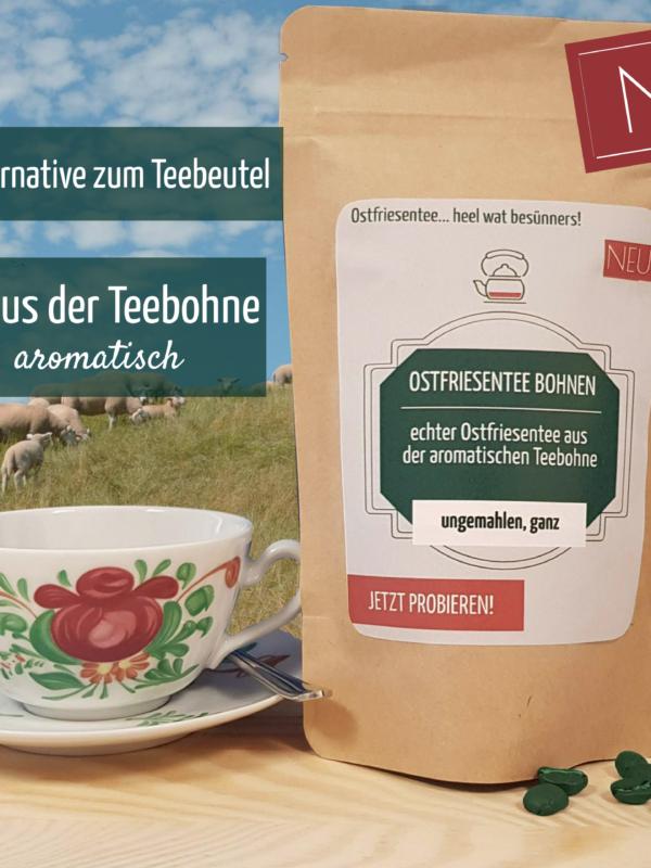 Teebohne aus Ostfriesland
